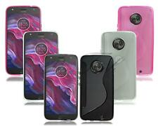 For Motorola Moto X4 XT1900 New Genuine Gel Rubber Phone Case + Screen Guard