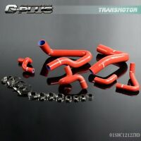 Gplus Silicone Coolant Radiator Hose Kit For 1986 - 1993 Mustang GT LX Cobra 5.0