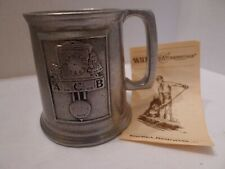 Wilton Armetale Child's Mug Cup Clock ABC