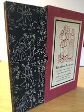 1947 - TALES FROM BOCCACCIO, 1st Edition, In sleepcase, Jean De La Fontaine