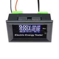 LCD 20A 120V Digital Voltage Watt Current Power Ammeter Voltmeter Detector Meter