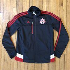 Toronto FC MLS Soccer Adidas Boy's Medium Full Zip Hoodie Track Jacket Team