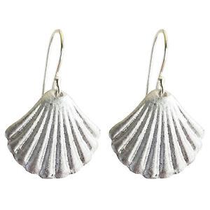 LOVEbomb Shell Fan Earings Fair Trade from Laos