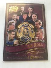 2015 Select Honours 2 Club Honour Roll CHR3 Brisbane Lions 73/75