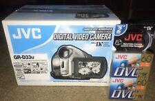 SEALED NEW JVC DIGITAL VIDEO CAMERA GR-D33u UNOPENED BOX ONLY ONE ON EBAY LOOK!!