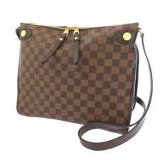 LOUIS VUITTON Duomo Damier Canvas Ebene N41425 Shoulder Bag Crossbody Bag LV