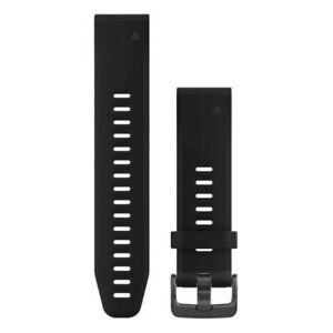 "Garmin QuickFit 20mm Silikon Armband perforiert 20mm Gr. M fenix 5S ""wie neu"""