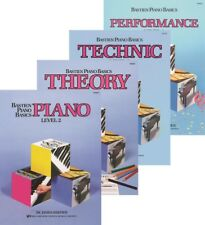 Bastien Piano Basics Level 2  Four-Book Pack (Lesson/Theory/Performance/Technic)