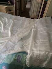 Luxury 3-piece set Satin Silk & lace fitted sheet+ top sheet+ Pillowcase Bedding