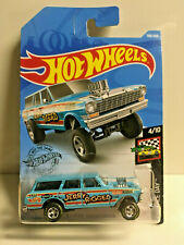 2019 Hot Wheels Jerry Rigged Gasser SUPER CUSTOM Real Riders GOODYEAR