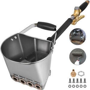 Pulverizador de Mortero de Hormigón para Cemento y Yeso con 4 Chorro de Cemento