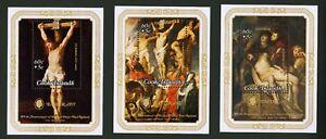 Cook Islands   1977   Scott # B60-B62    Mint Never Hinged Souvenir Sheet Set