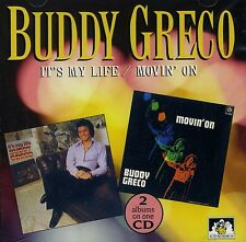 """Buddy Greco - It's My Life / Movin' On """"NEW & SEALED CD"""" 1st Class Post From UK"""