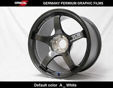 4 Pics ADVAN Racing TCIII TC3 JDM wheel car decal vinyl Sticker
