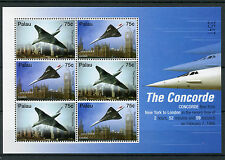 Palau 2006 MNH Concorde New York London Record 6v M/S Big Ben Westminster Stamps
