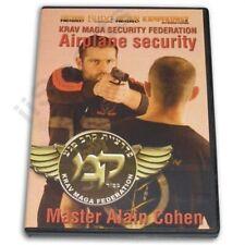 Israeli Krav Maga Airplane Security Alain Cohen Dvd airline flight idf tsa cqb