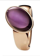 XEN GOLD PLATED STAINLESS STEEL QUARTZ RING