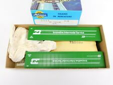 HO Scale Athearn Kit 5601 SET-2 BNZ Burlington Northern 45' Piggy-Back Trailers