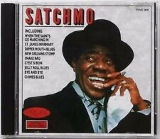 Louis Armstrong : Satchmo (CD 1987) *VG COND* BARGAIN!! FREE!! UK 24-HR POST!!