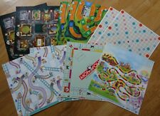 Scrabble, Life, Clue Candyland Monopoly Board Game Scrapbooking Paper Lot 12x12