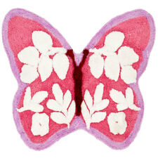 Catherine Lansfield Butterfly Shaped Rug, Pink, 80 x 60 Cm