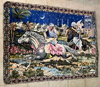 Vintage Arabian Nights Tapestry