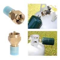 Propane Refill Adapter Gas Lb Cylinder Tank Coupler Heater Bottle Coleman AL
