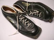 Vintage leather Shoes Cross Country Skiing shoes excellent 1960s sixties Sweden