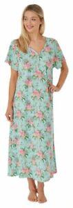 Ladies Long Flamingo Plus Size Jersey Nightshirt 14-16 18-20 22-24 26-28 30-32