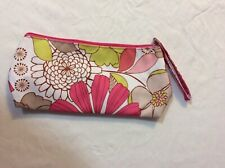 Clinique Cosmetic Flower Makeup Bag Zipper Pouch, size: 11in * 5in * 1 in