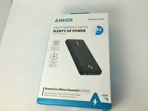 Anker PowerCore Metro 20,000mAh Portable Charger for iPhone Samsung LG HTC Pixel