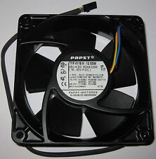Papst 119 mm Cooling Fan - 29 V DC (16 - 30V) - 2200 RPM - 4119 N - Metal Body