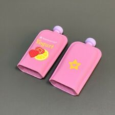 2PCS American Girl Doll Bitty Baby Yogurt Squeeze Food Accessory Kids Toys Gift