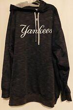 New York Yankees gently used mens 3xl Majestic hoodie sweatshirt therma base