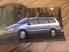 1998 Honda Odyssey Minivan USA Color Brochure Catalog Prospekt