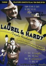 Laurel and Hardy Triple Feature [New DVD]