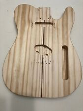Yellow Pine Tele Body With A Bookmatched Top
