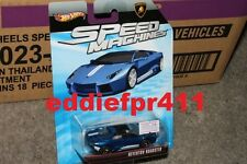 1/64 HOT WHEELS LAMBORGHINI REVENTON ROADSTER BLUE SPEED MACHINES DIECAST RARE