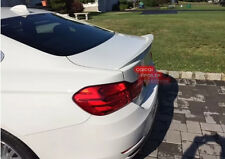 Painted BMW F32 4-series coupe performance type trunk spoiler color:300 white@US