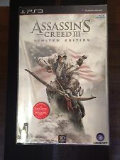 Assassin's Creed III -- Limited Edition (Sony PlayStation 3, 2012) NEW UNOPENED