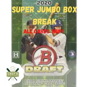 ATLANTA BRAVES - 2020 BOWMAN DRAFT SUPER JUMBO BOX (1/6 CASE) BREAK #32