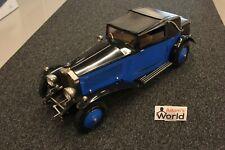 Pocher built 1932 Rolls-Royce Phantom II Sedanca Coupé 1:8 black / blue (BPV)