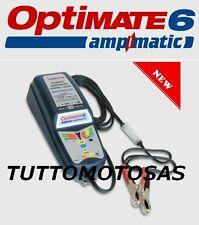 TECMATE OPTIMATE 6 CARICA BATTERIA+MANTENIMENTO MOTO SCOOTER AUTO ATV