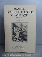 Manuel Erotologie classique Forberg Monaco rocher