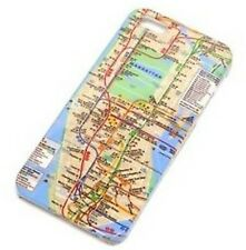 IPHONE 5 / 5S / SE New York City Subway Map BACK CASE
