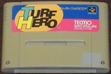 SFC. Turf Hero. Super Famicom Japanese SNES game (NTSC J).