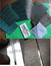Guitarra traste pulido y lijado Kit: papel de lija, micromesh, Protector De Tiras TA001