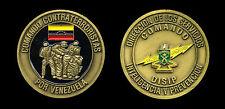 Challenge Coin - DISIP Comando Contra Terroristas de Venezuela