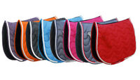 Rhinegold Wave Saddle Pad Saddlecloth Numnah in Cob Full or Pony FREE Postage