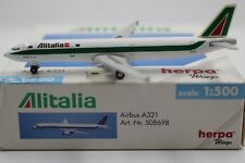 Herpa Wings 1:500 Alitalia a321 (508698) RAR